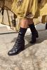 Free People | Elle Block Heel Boot | Black