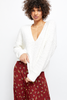 Free People | Finders Keepers V-Neck Sweater | White