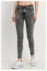 Just Black Denim | Acid Wash High Waist Ankle Skinny Jeans