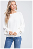 Cable Knit long Sleeve Sweater