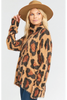 Show Me Your Mumu |Fatima Turtleneck Sweater | Cheetah Fever Knit