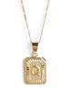 Bracha initial necklace found in Macon, Georgia