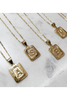 Bracha Gold Filled Initial Necklaces in Macon and Marietta
