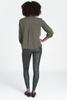 Spanx | Faux Leather Camo Leggings | Matte Green