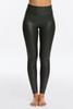 Spanx   Faux Leather Legging Petite   Black