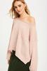 Crop Knit Pullover | Powder Pink