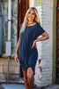 Loose Fitted Maxi Dress   Midnight