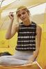 Black Striped Dye Muscle Tank available in Macon GA & Marietta GA