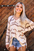 Long sleeve cotton sweater available in Macon, GA and Marietta, GA.
