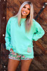 Monogrammed Personalized Tops in Island Reef