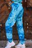 Tie Dye Joggers | Sky Blue