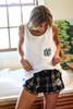 Monogrammed Pajama Shorts