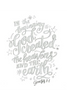 The Beautiful Word Creative Coloring & Hand Lettering Book