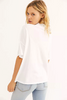 Free People | Fearless Tee | Painted White