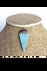 Karli Buxton White Turquoise Arrowhead choker
