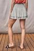 Ruffle Skirt With Shorts | Sage