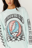 Grateful Dead Checkered Oversized Long Sleeve available in Macon GA