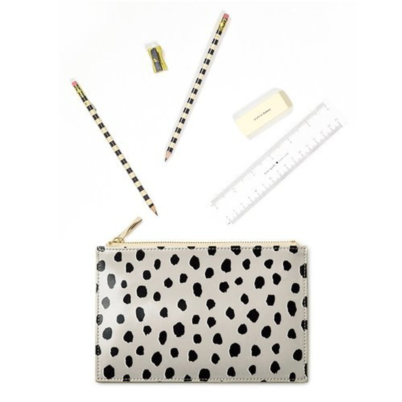 newest 85505 a4a56 Kate Spade New York | Pencil Pouch | Flamingo Dot