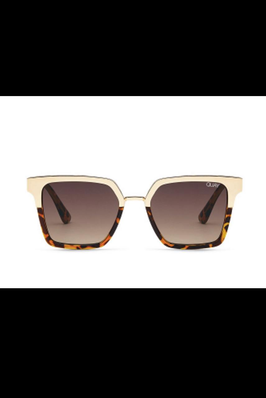 Quay Sunglasses Upgrade Tortoise Gold Brown