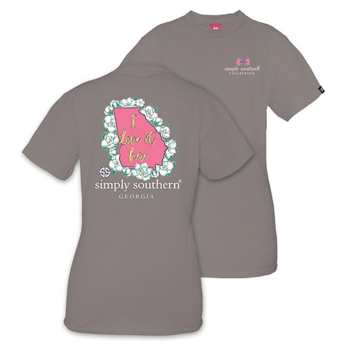 Simply Southern | Preppy GA {ADULT SMALL}