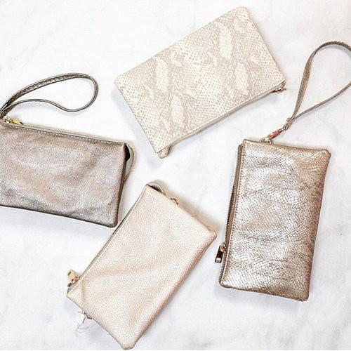 Gorgeous small crossbody purse. Doubles as as wristlet. Available in Macon, GA & Marietta, GA
