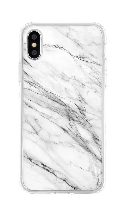 Casery   Phone Case   White Marble
