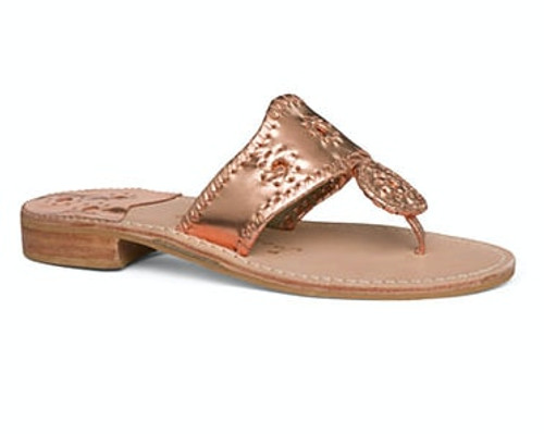 Jack Rogers Rose Gold West Hamptons