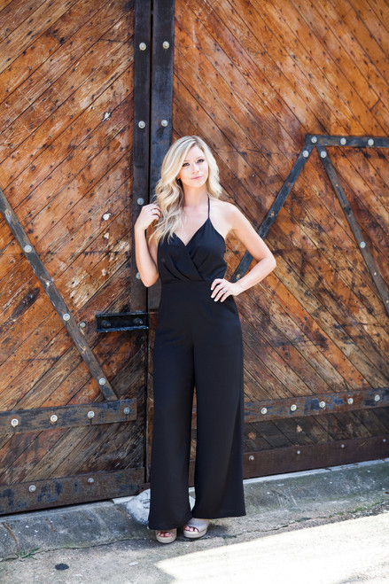 Now is the New Later | Black Jumpsuit
