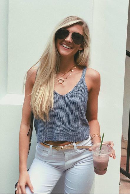 Inspire Me | Sweater Crop Top