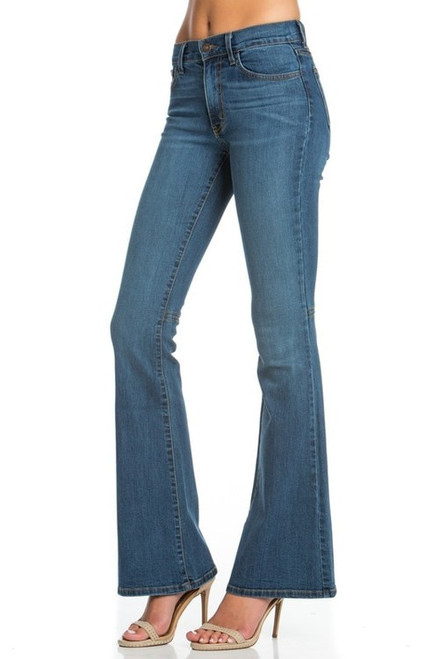O2 | Denim Flares | Medium Wash