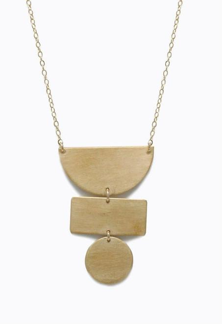 ABLE | Totem Necklace | Brass