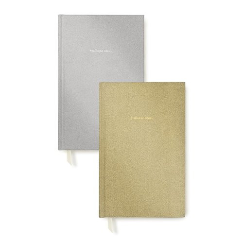 Kate Spade New York   Glitter Journal Set