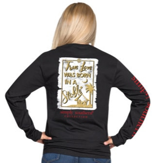 Simply Southern | True Love Born in a Stable | Black