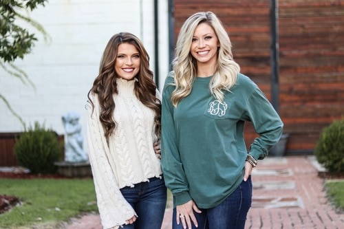 Monogrammed Comfort Colors | Long Sleeve | Blue Spruce
