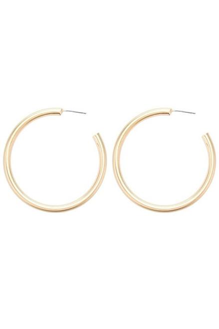 Earrings | Classic Gold Hoops