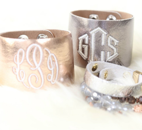 The Liv | Monogrammed Cuff