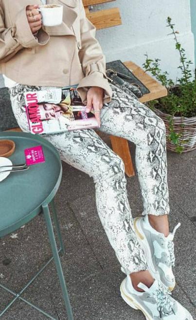 Lexi Moon | Snakeskin Pants