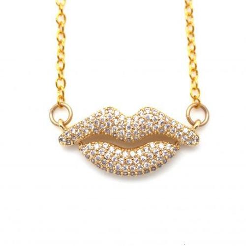 Karli Buxton | Lips Necklace