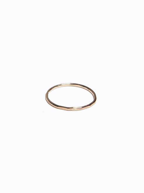 ABLE | Hammered Stacking Ring