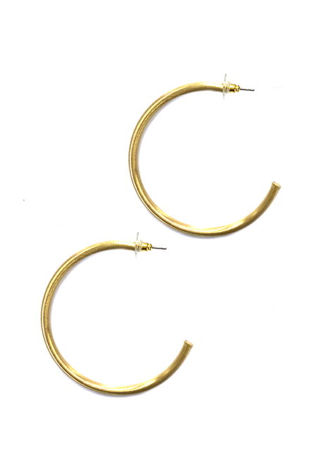 Kristalize | Caelynn Gold Hoops