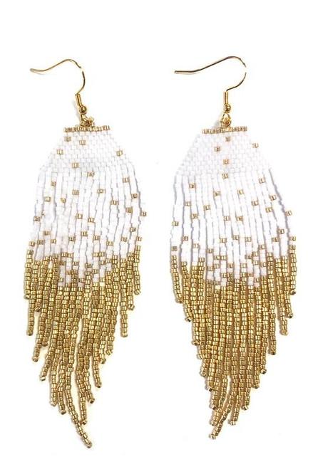 Kristalize | Serene Earrings in White