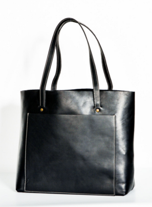 Oak River | Simple Tote in Black