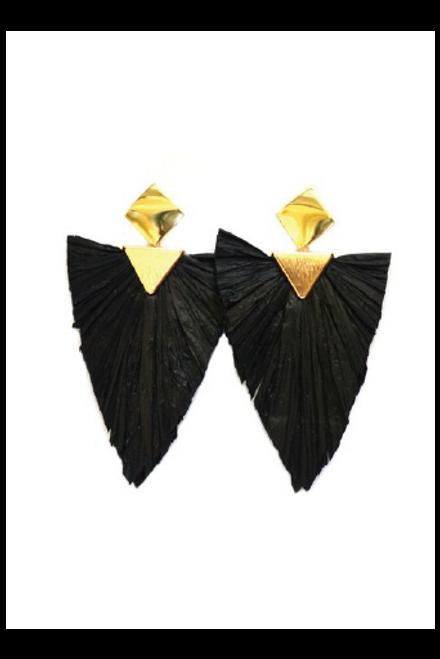 Betsy Pittard | Allen Earrings | Black