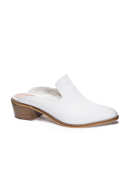 Chinese Laundry | Marnie Mules in White Snake