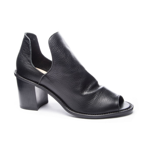 Chinese Laundry | Carlita Peep Toe Bootie in Black