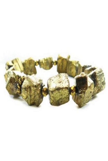 Betsy Pittard | Hematite Chunk in Gold