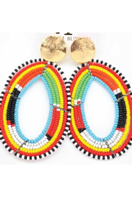 Karli Buxton | Beaded Drops | Multicolored