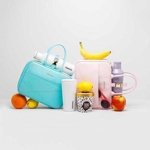 Corkcicle | Baldwin Boxer Lunchbox | Rose Quartz
