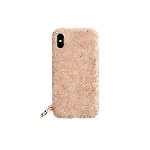 O-Venture | Rose Gold Confetti iPhone Case