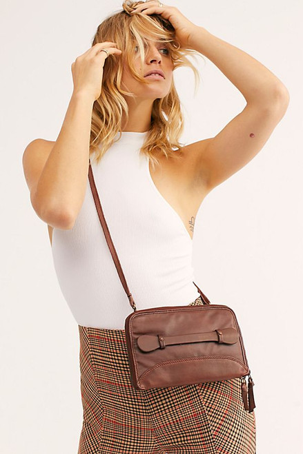 Free People | Traveler Wallet | Cognac